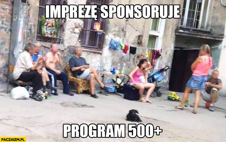 Imprezę sponsoruje Program 500 plus patologia