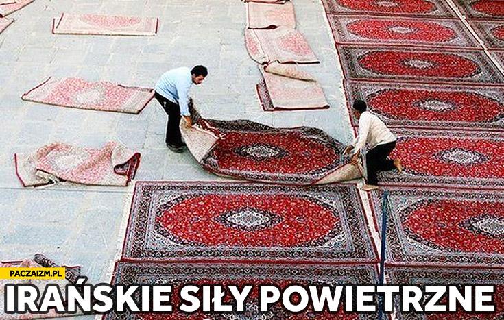 Irańskie siły powietrzne dywany