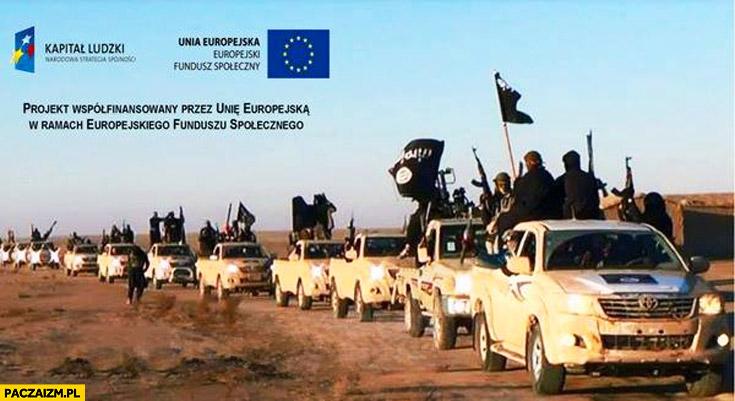 ISIS projekt współfinansowany przez Unię Europejską logo unii