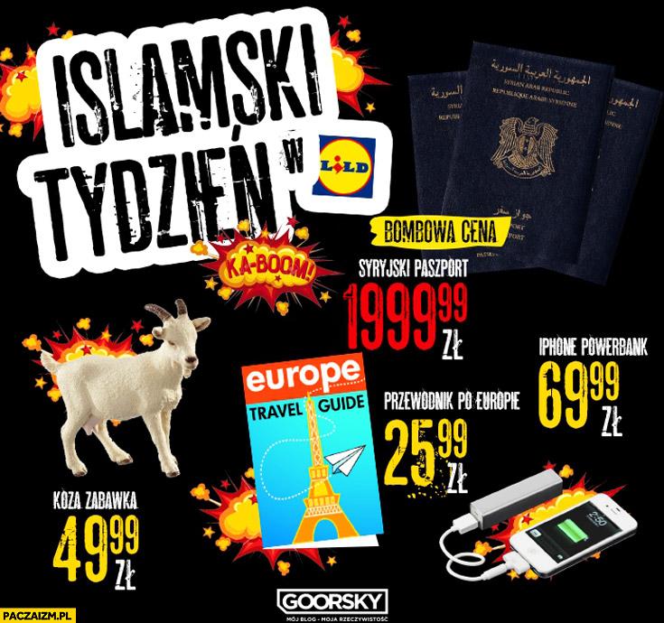 Islamski tydzień w Lidl Goorsky