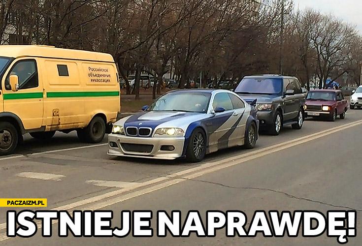 Istnieje naprawdę BMW z Need for speed Most Wanted