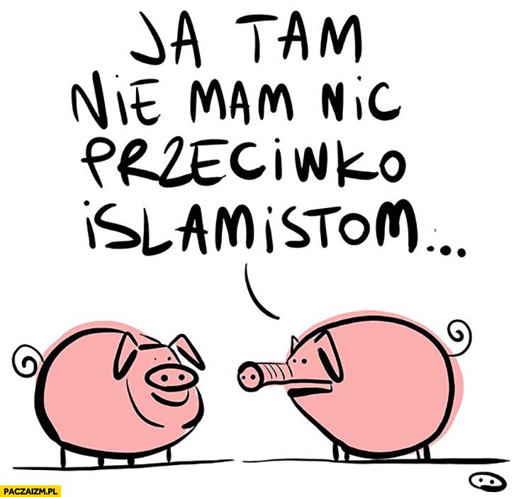Ja tam nic nie mam przeciwko islamistom świnie Skoq