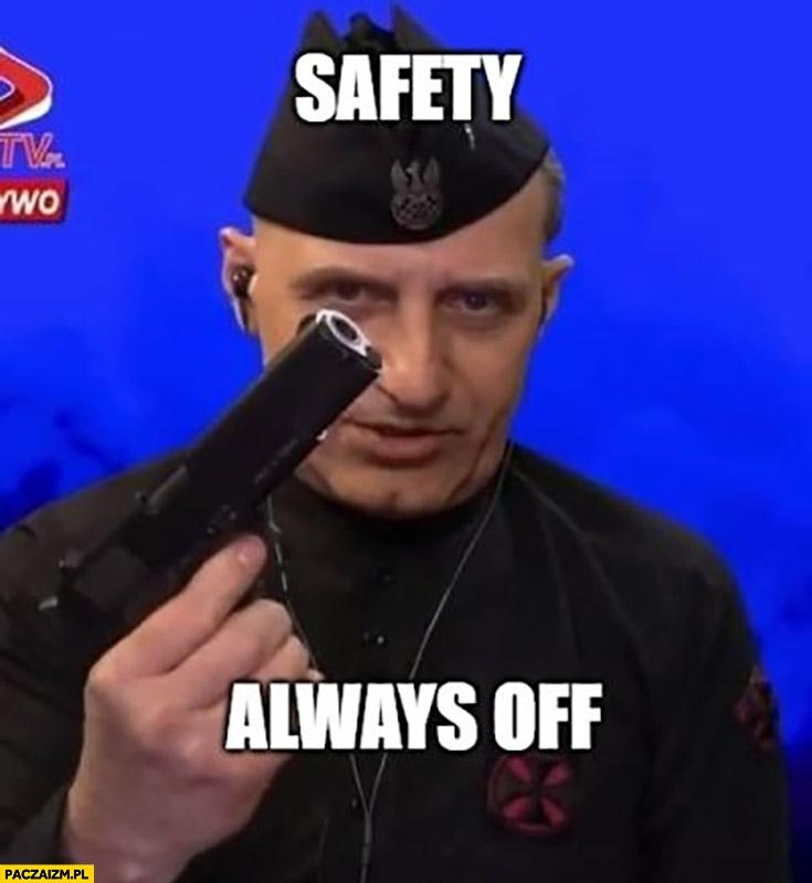 Jabłonowski safety always off pistolet