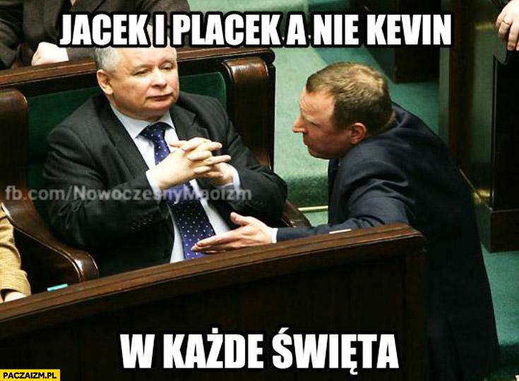 Jacek i Placek a nie Kevin w każde święta Kaczyński Kurski