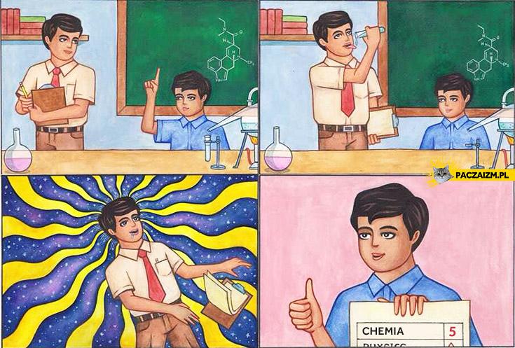 Jak dostać piątkę z chemii?