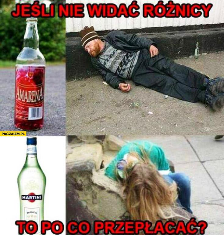 Jak nie widać różnicy po co przepłacać pijani alkohol
