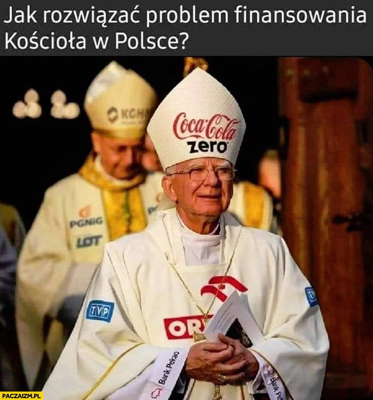 Jak rozwiązać problem finansowania kościoła w Polsce loga marek branding reklama sponsoring