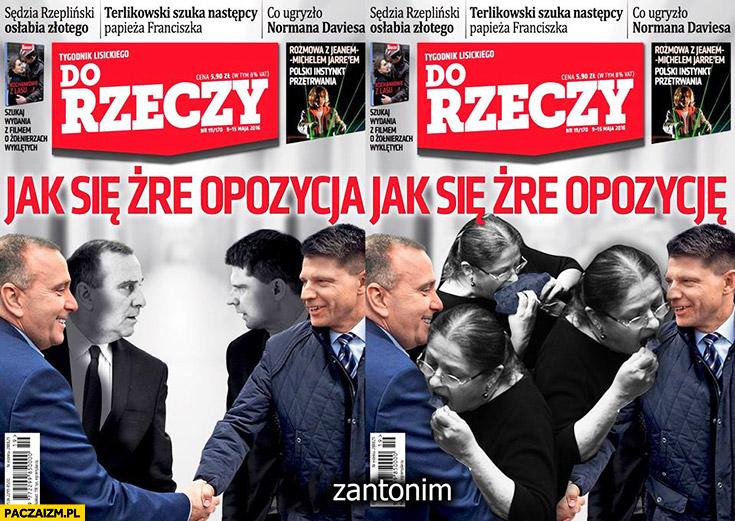 Jak się żre opozycja, jak się żre opozycję posłanka Pawłowicz Do Rzeczy