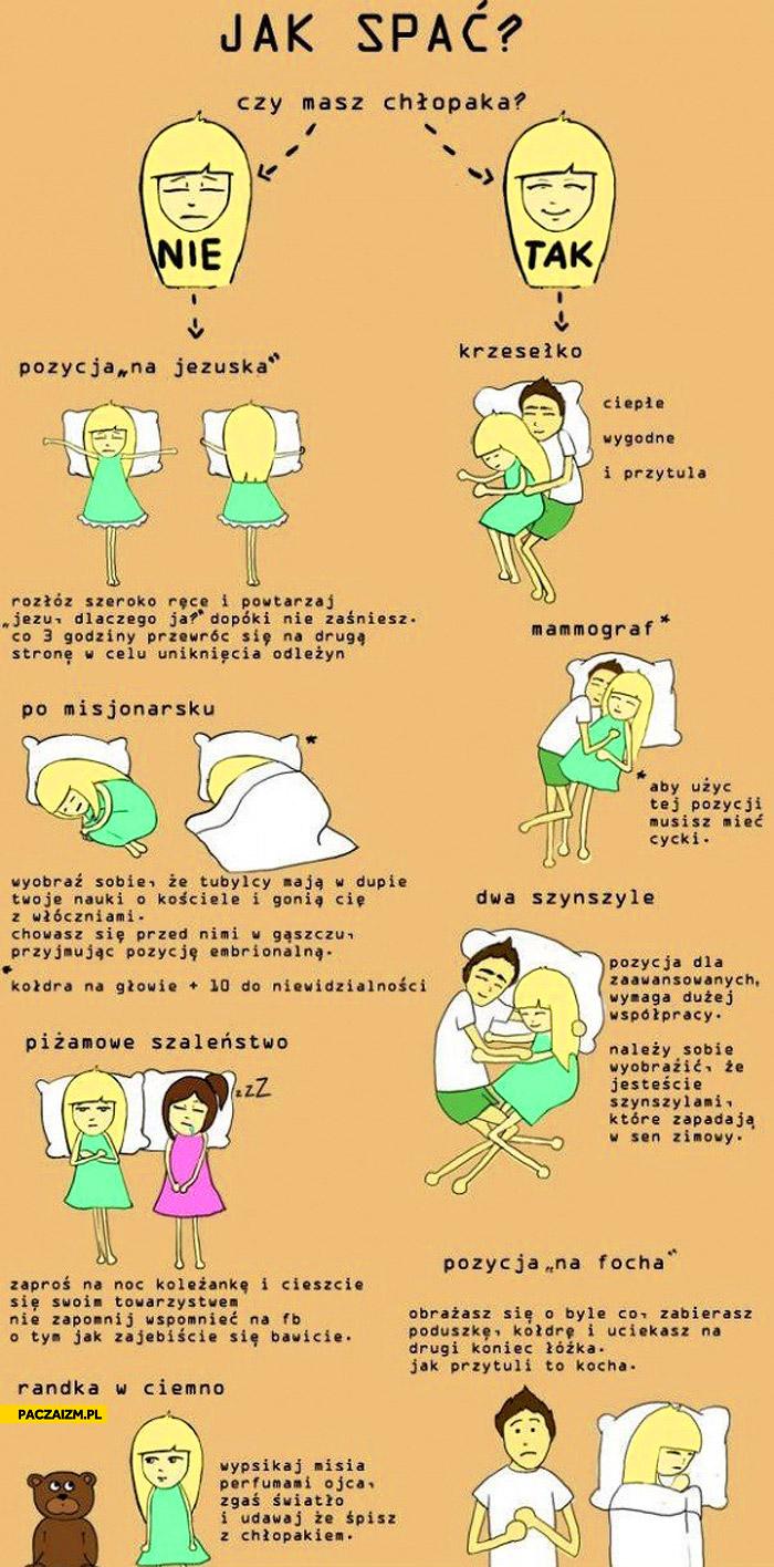 Jak spać czy masz chłopaka