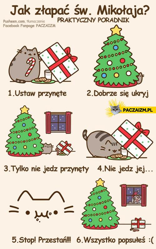 Jak złapać Świętego Mikołaja?