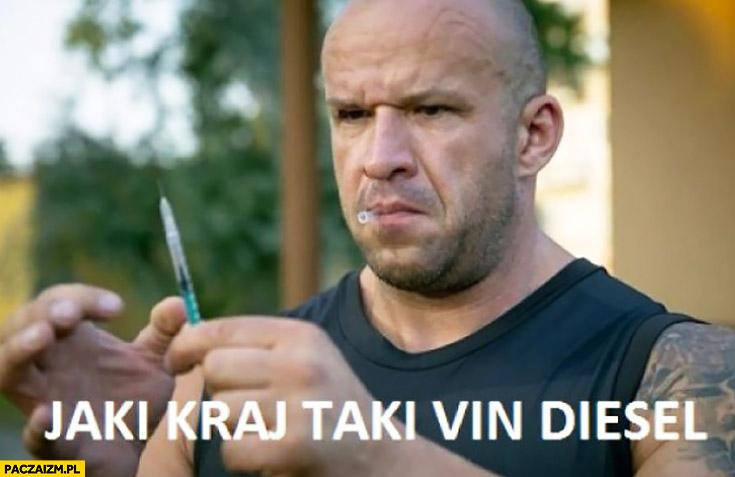 Jaki kraj taki Vin Diesel strachu Pitbull nowe porządki