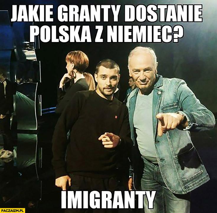Jakie granty dostanie Polska z Niemiec? Imigranty Strasburger