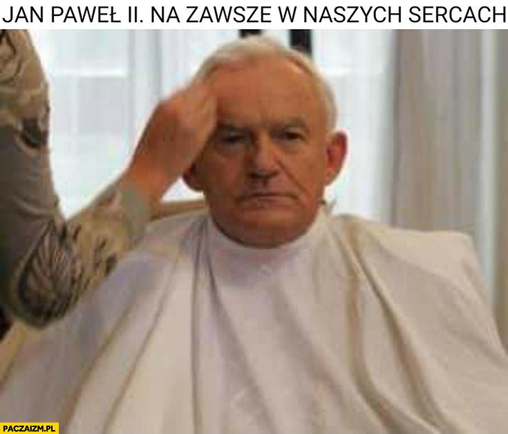 Jan Paweł 2 na zawsze w naszych sercach Leszek Miller