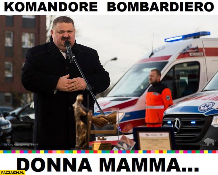 Janusz alfa komandore bombardiero donna mamma