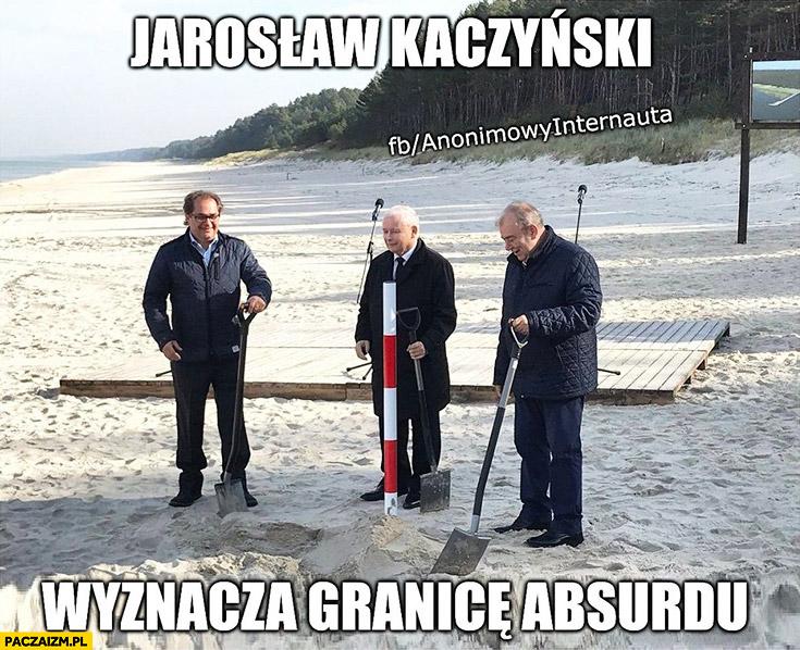 Jarosław Kaczyński wyznacza granice absurdu przekopanie Mierzei Anonimowy internauta