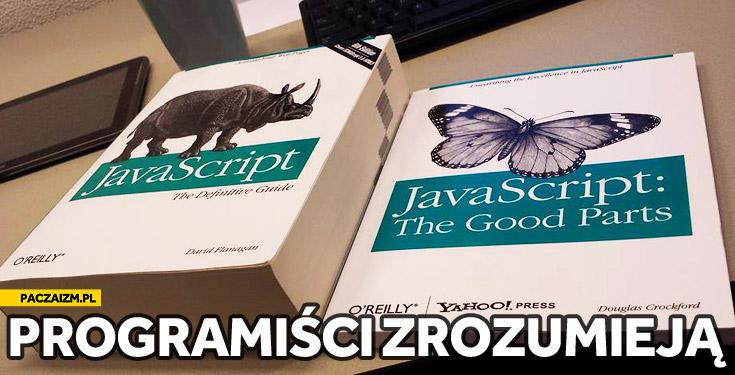 Javascript books the good parts programiści zrozumieja