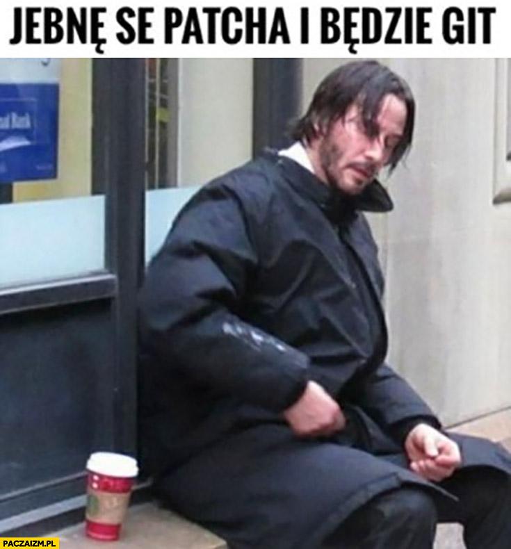 Jebne se patcha i będzie git Keanu Reeves Cyberpunk 2077