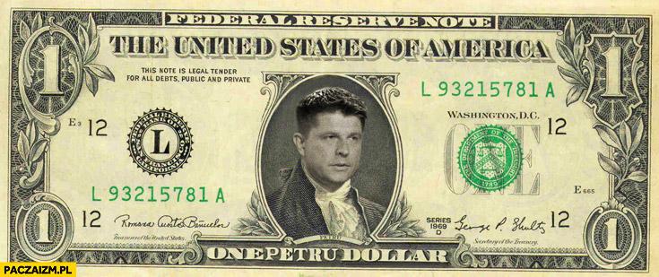Jeden Petru dolar Petrudolary