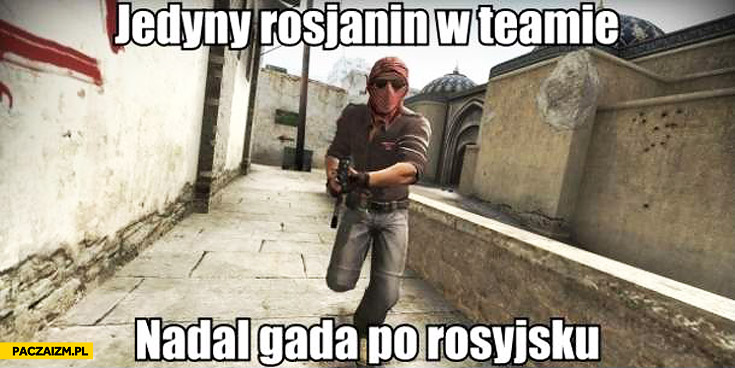Jedyny Rosjanin w teamie nadal gada po rosyjsku