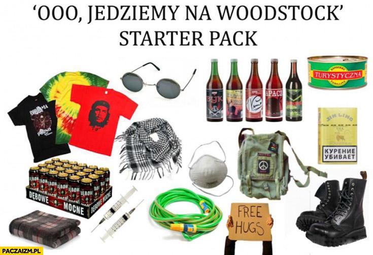 Jedziemy na Woodstock starter pack