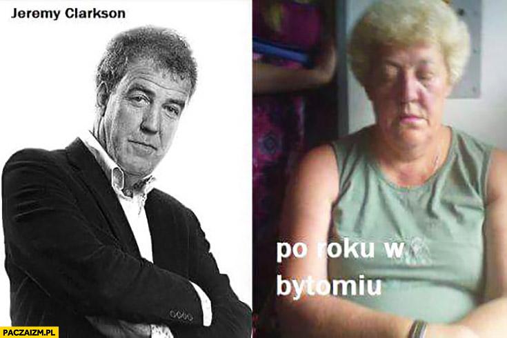 Jeremy Clarkson po roku w Bytomiu kobieta wygląda jak on