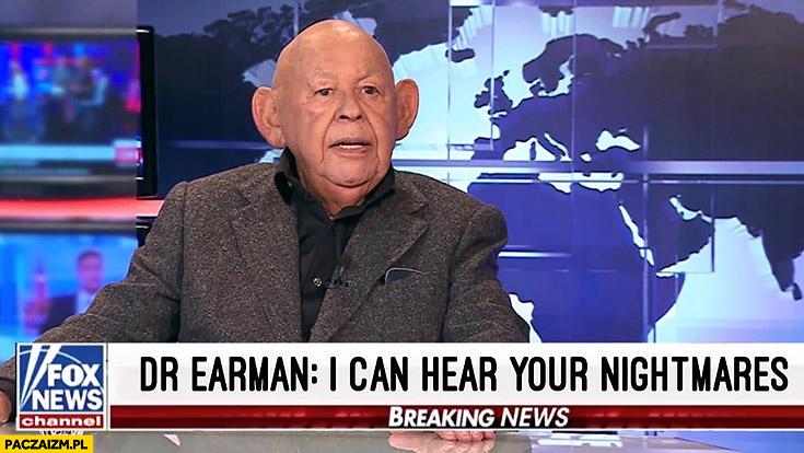 Jerzy Urban Dr Earman słyszę Twoje koszmary