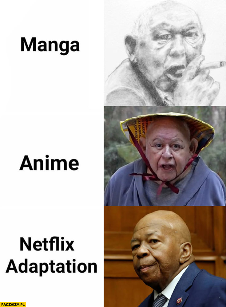 Jerzy Urban manga, anime, Netflix adaptation czarny murzyn