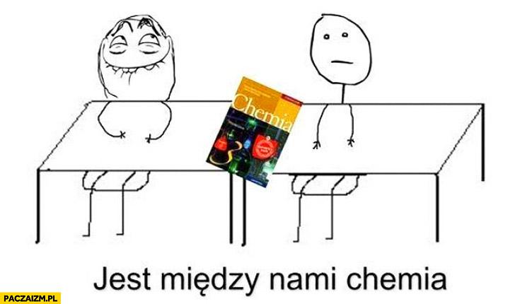 Jest między nami chemia książka od chemii