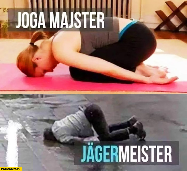 Joga majster, Jagermeister porównanie
