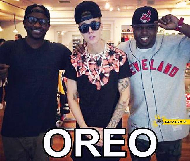 Justin Bieber Oreo