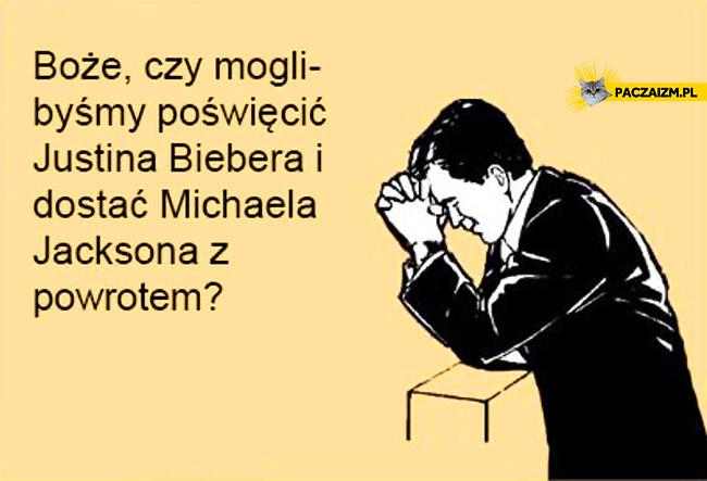 Justin Bieber za Michaela Jacksona