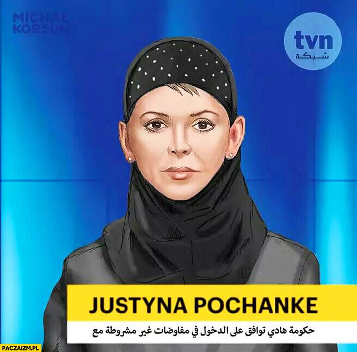 Justyna Pohanke strój muzułmanki hidżab burka