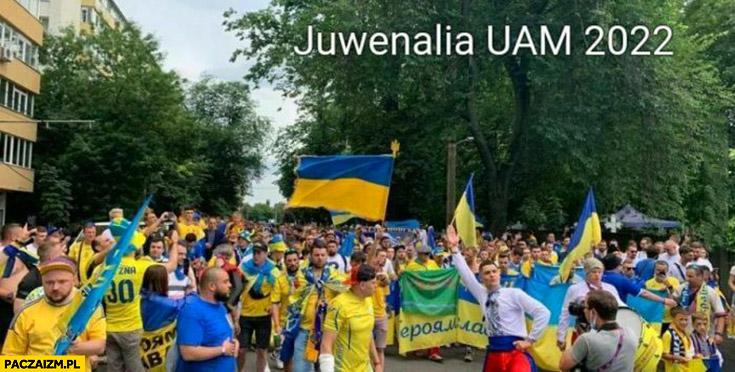 Juwenalia UAM 2022 Poznań sami Ukraińcy Ukraina