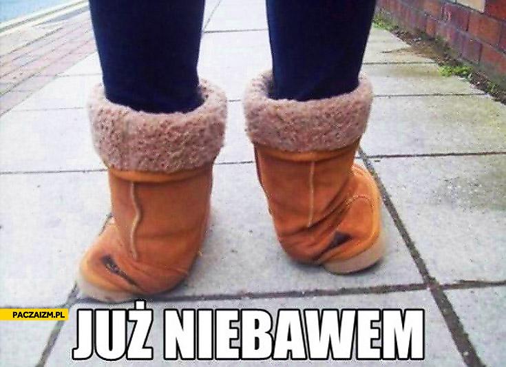 Już niedługo buty zimowe