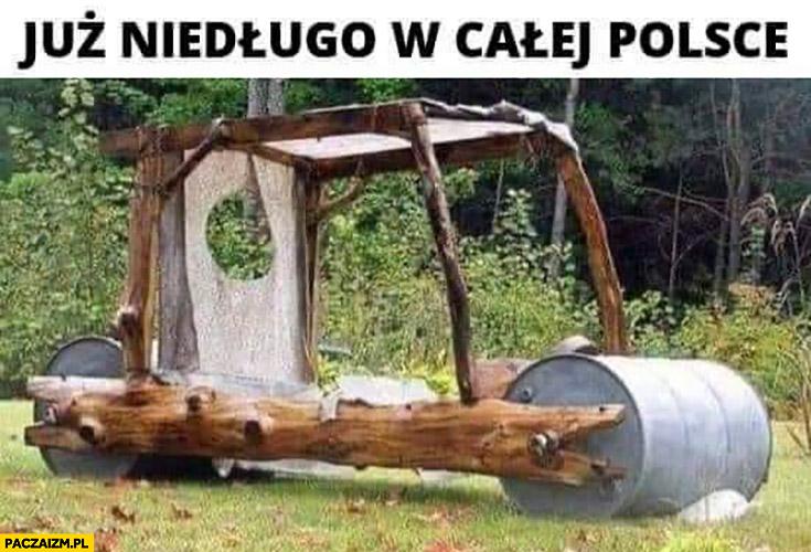 Już niedługo w całej Polsce Flinstonowie pojazd wóz auto samochód