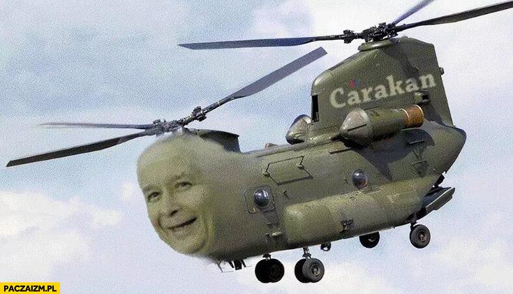 Kaczyński Carakan karakan helikopter Caracal przeróbka