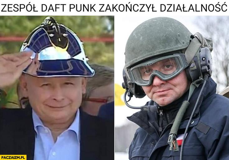 Kaczyński Duda zespół Daft Punk zakończył działalność