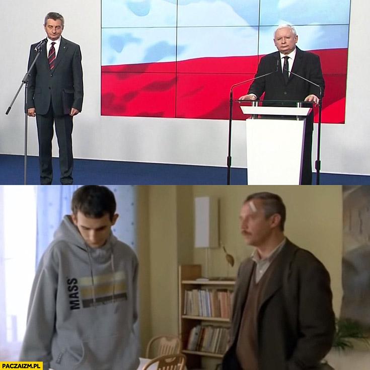 Kaczyński dymisjonuje Kuchcińskiego jak dzień świra powtórzmy angielski