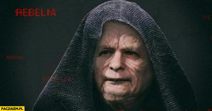 Kaczyński imperator star wars gwiezdne wojny