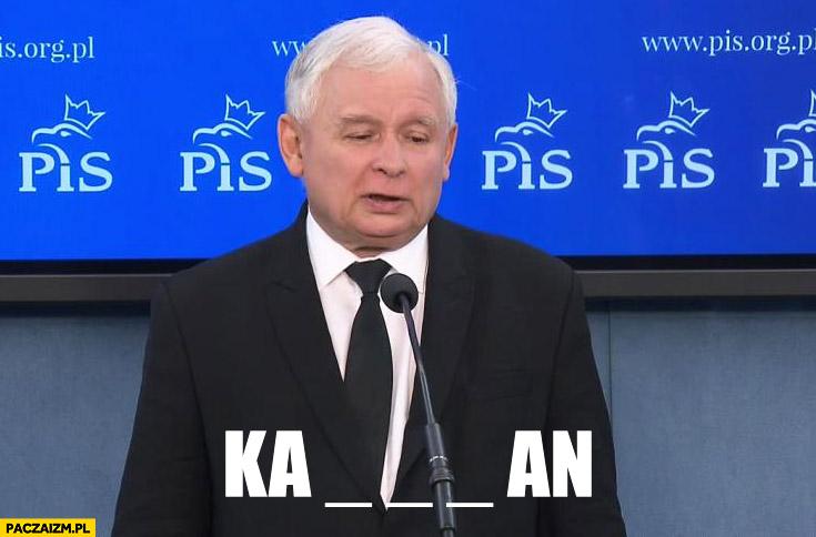 Kaczyński karakan rebus