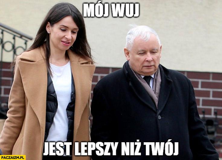 Kaczyński mój wuj jest lepszy niż Twój Marta Kaczyńska
