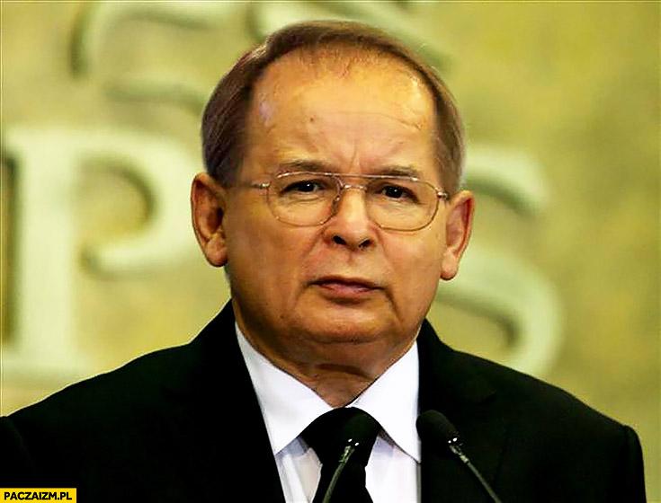 Kaczyński Rydzyk połączenie twarzy przeróbka