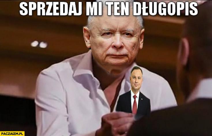 Kaczyński sprzedaj mi ten długopis Duda Wilk z wallstreet