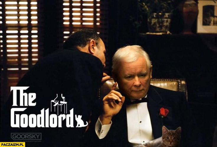 Kaczyński the Goodlord ludzki pan Ojciec Chrzestny