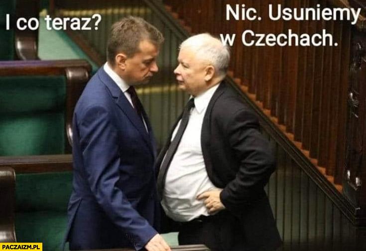 Kaczyński w ciąży i co teraz? Nic, usuniemy w Czechach