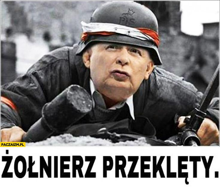 Kaczyński żołnierz przeklęty