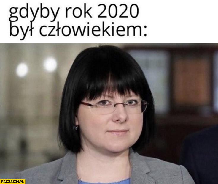 Kaja Godek gdyby rok 2020 był człowiekiem