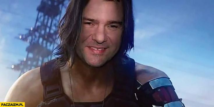 Karolak Keanu Reeves Cyberpunk 2077 przeróbka