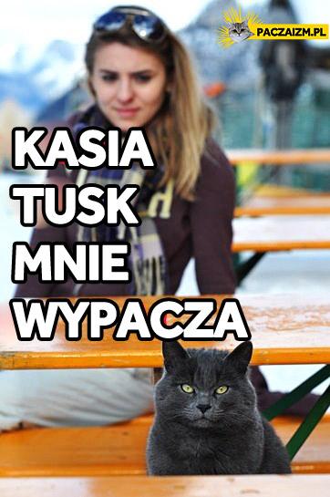 Kasia Tusk mnie wypacza