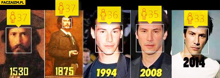 Keanu Reeves how old wykrywanie wieku aplikacja Microsoft